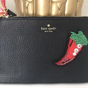 Kate Spade On Purpose Novelty Pouch Clutch